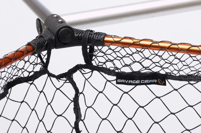 Savage Gear Pro Tele Folding Net Rubber X-Large Mesh L